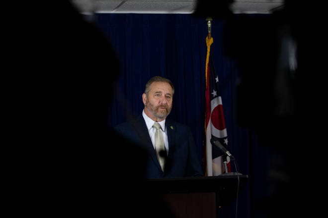 Ohio Attorney General Dave Yost has been handling a large settlement against three major drug distributors sued for the opioid epidemic.