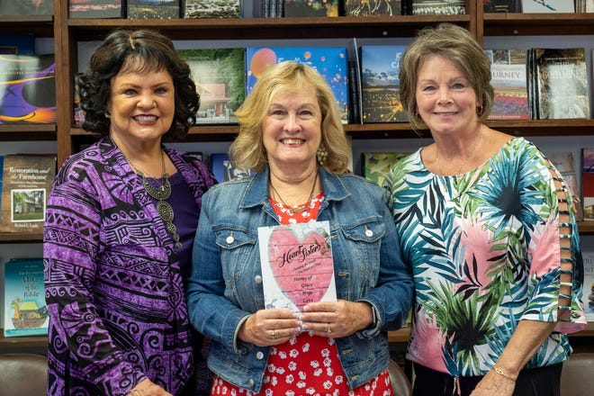 Dr. Debra Peppers, Chris Montgomery and Lori Eppel all contributed to the newly-released Heart Sisters book. [Cindy Peterson/Correspondent]
