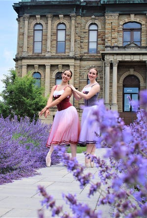 Recent West Holmes graduates Taryn Grassbaugh (left) and Katie Hershberger, dance students from the Holmes Center for the Arts will be furthering their dance careers in college, as they both received dance scholarships.