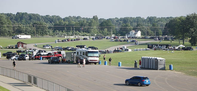 Roughly 2,000 people attended an event on June 13 at Dragway 42 in Wayne County that was the scene of a shooting in which one person was killed and several others were injured.