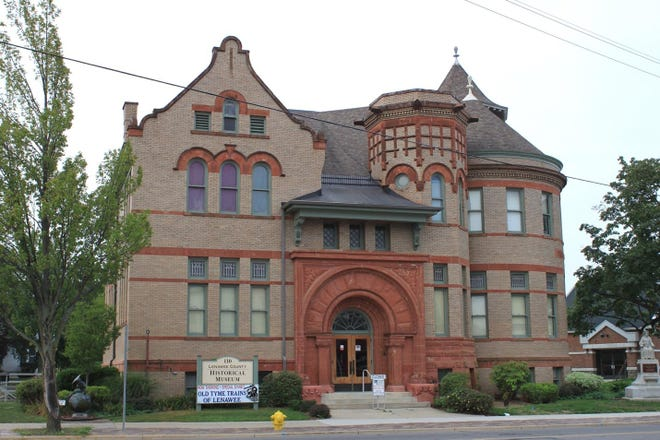 The Lenawee Historical Museum is housed in the historic Carnegie Library building at 110 E. Church St., in Adrian. This is one of the three libraries built in Lenawee County by Andrew Carnegie in the early 20th century.