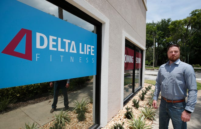 Delta Life Fitness owner Bobby Wise in Ormond Beach, Monday, June 14, 2021 at The Trails Shopping Center, where he is eyeing an August opening for his new business.
