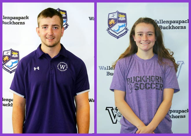Wallenpaupack Area seniors Peter MacDonough and Emily Langan were recently honored as the Paupack's picks for the Lackawanna League's student-athlete annual awards. Both Buckhorns are four-year sports veterans and consistently high academic achievers.