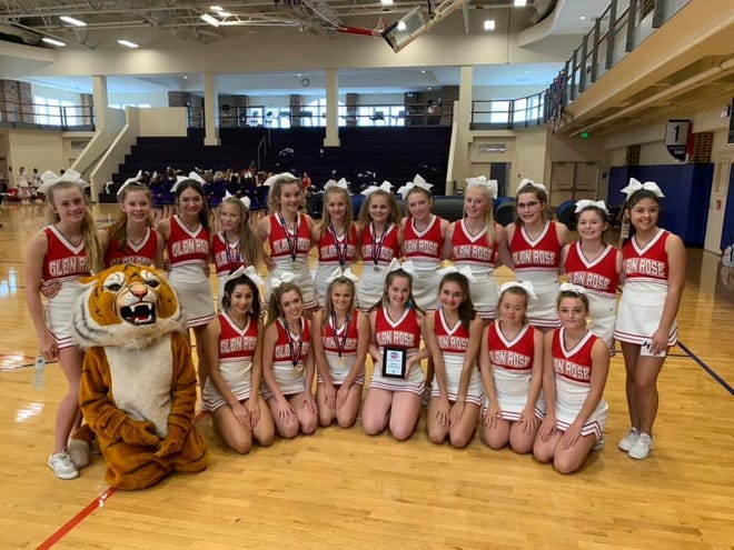 Glen Rose High School attended NCA Cheer Camp at Southern Methodist University from June 7-9.