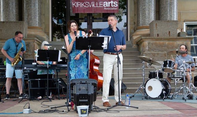 The band Blue Velvet performs as part of the Summer on the Square concert series on Friday, June 11.