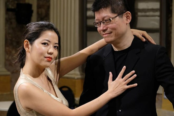 Duo Beaux Arts at Swan City Piano Festival on June 18