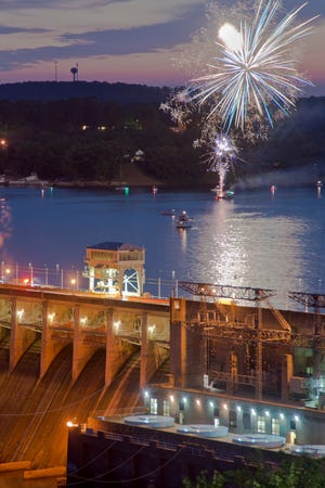 Mark your calendar for the Best Dam Fireworks Display being held August 10.