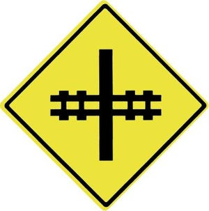 Railroad crossing signs are common in Monroe County, which has one of the highest number of crossings in the state.