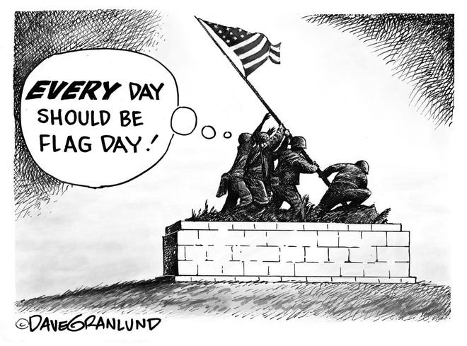Every day should be Flag Day.
