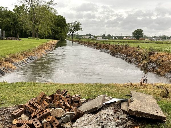 Ditches have been overburdened during two recent rain events in Plaquemine. The Board of Selectmen approved a request from Mayor Edwin Reeves Jr. to begin studies to determine a fix to local drainage.