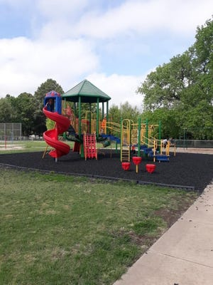 USD 382 was awarded two grants by the Department of Health and Environment that were part of the 2020 Waste Tire Products Grant that has provided ground tire mulch for playground flooring.