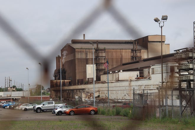 Republic Steel's mill on Eighth Street NE in Canton is facing fines from the Occupational Safety and Health Administration.