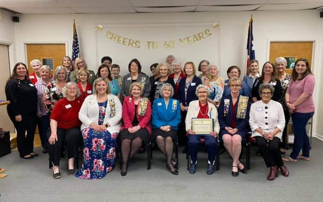 The Teha Lanna Chapter of the National Society of the Daughters of the American Revolution (NSDAR) gathered for their belated 60th Anniversary celebration.