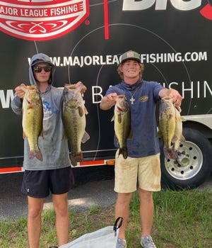 Tarleton State's Trevor Easter and Caden Cowan finished third place at Lake of the Pines, securing a spot in the 2022 Major League Fishing National Championship.