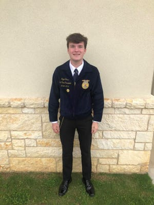 Ryan Hess won the San Antonio Stock Show $20,000 scholarship. He was named one of the Top 10 in the state.