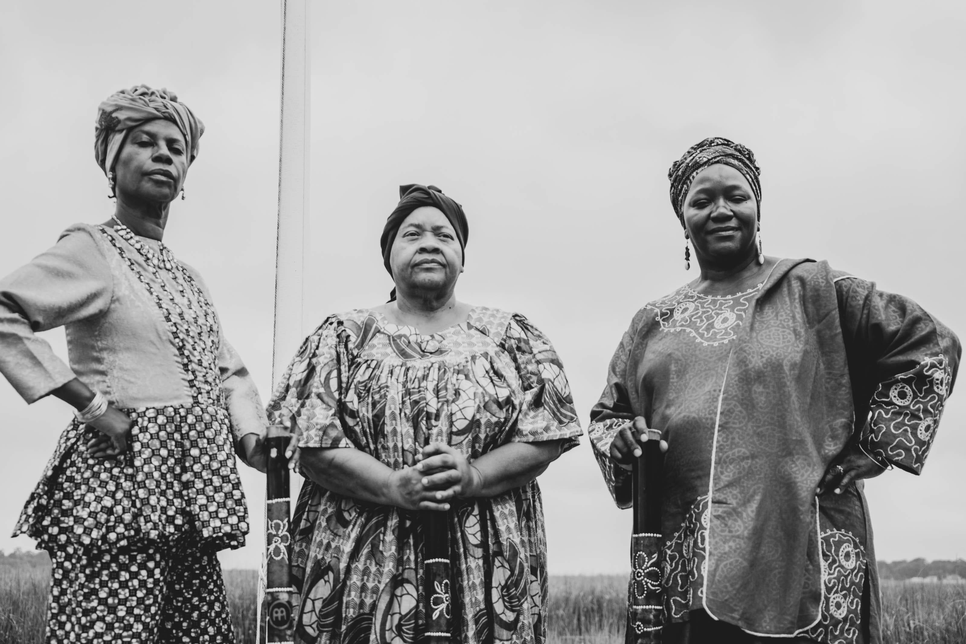 From left: Rosalyn Rouse, Pastor Linnie Kelly and Patt Gunn