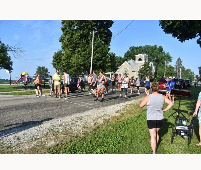 Neponset's Picnic Day race gets ready to start over the weekend.