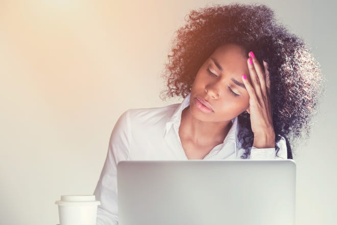 A new survey says the pandemic exacerbated work-stress issues.