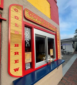 The 45-year-old hotdog business has added a coffee pass-through window and morning hours.