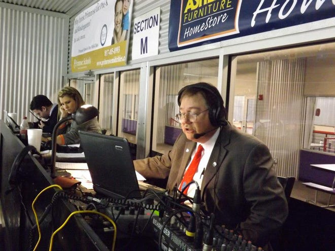 """Former Topekan Robert Rennison has seen just about it all in his decades of sports broadcasting. He's written a book about his experienced and the venues he's worked in throughout the years called """"Venus: Their People. The Experiences"""""""