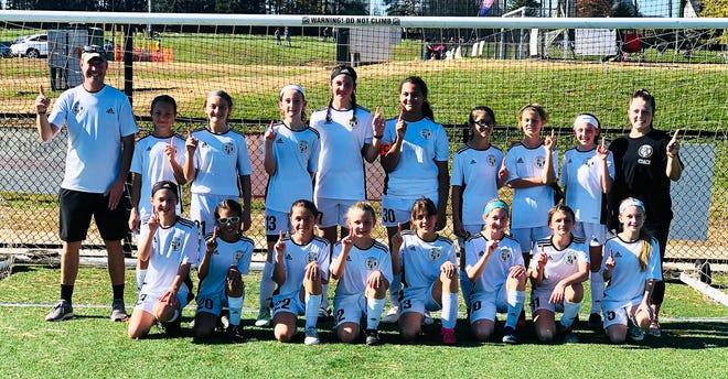 Epic '09 Dash girls soccer team