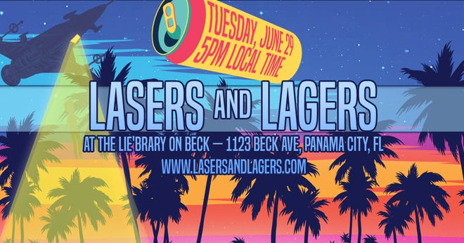 Lasers & Lagers will be at 5 p.m. on June 29 at The Lie'brary on Beck in Panama City.