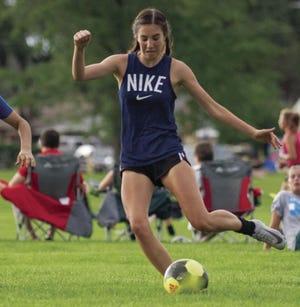 Pueblo West High School girls soccer had Morgan Cologgi as its anchor this season.