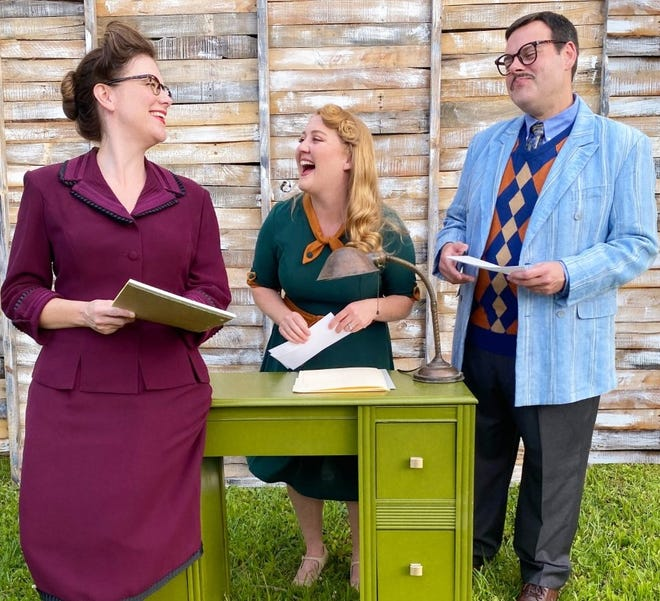 """Lisa Waldrop Shattuck, Lindsey Kennedy Jones and Royce Garrison are among the stars of The Actor's Charitable Theatre's """"Bright Star,"""" a musical by Steve Martin and Edie Brickell, based on a true story from early-mid 20th-century North Carolina. [Submitted photo]"""
