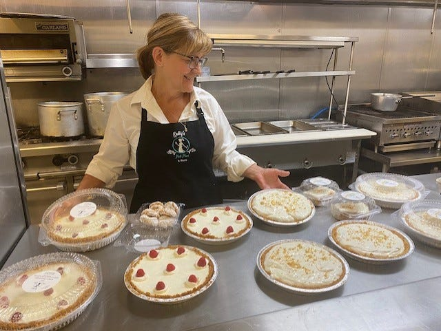 Kelly McGinnis has expanded her offerings beyond pot pies at Kelly's Pot Pies & More.