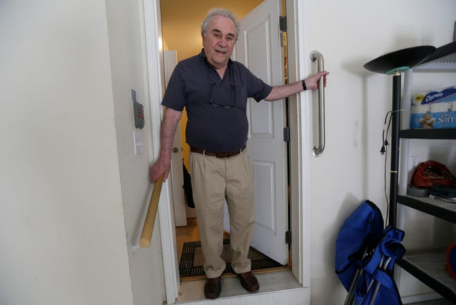 Installing hand rails or grab bars is one of many ways to prevent falls, according to the CDC.