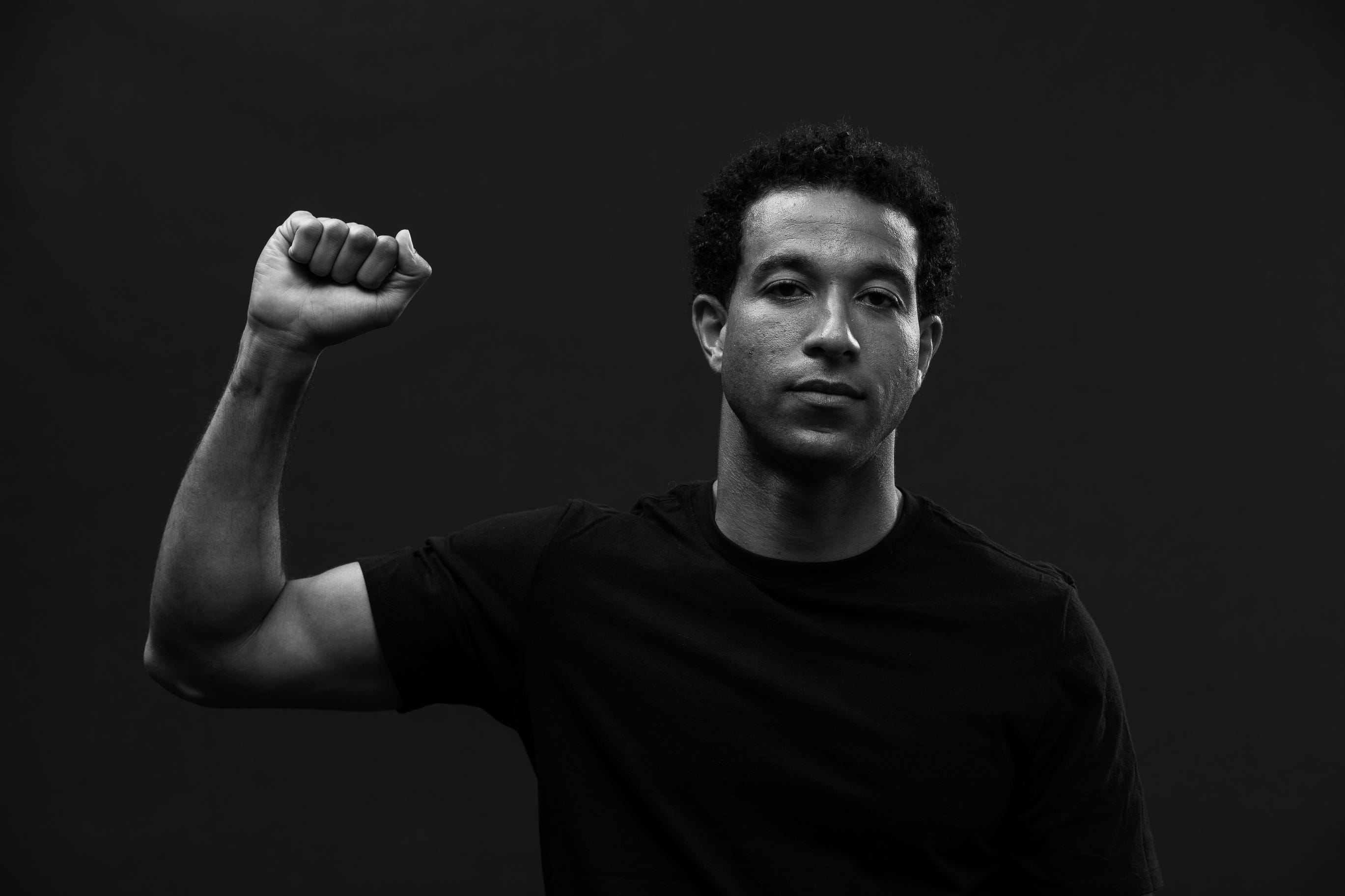 Justin Morrow, 33, is the executive director for Black Players for Change and is a fullback for Toronto FC in Major League Soccer.