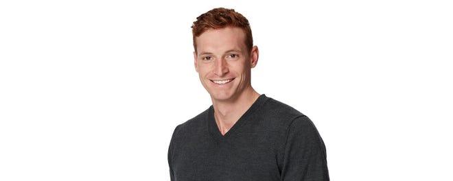 "Garrett Schwartz of Salinas is a contestant on ""The Bachelorette."""
