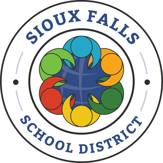 The newest version of the Sioux Falls School District logo.