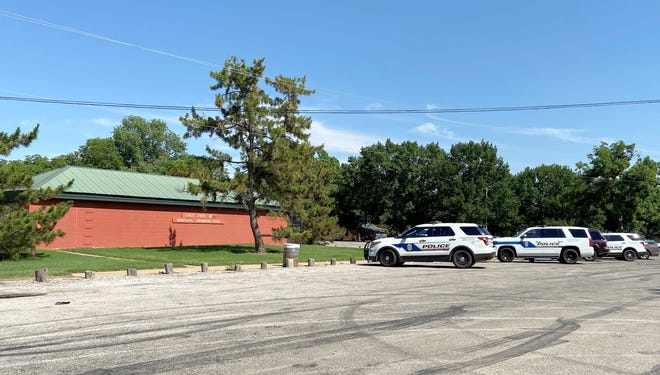 Wichita Falls police responded to a disturbance at the Lucy Park Swimming Pool Monday afternoon.