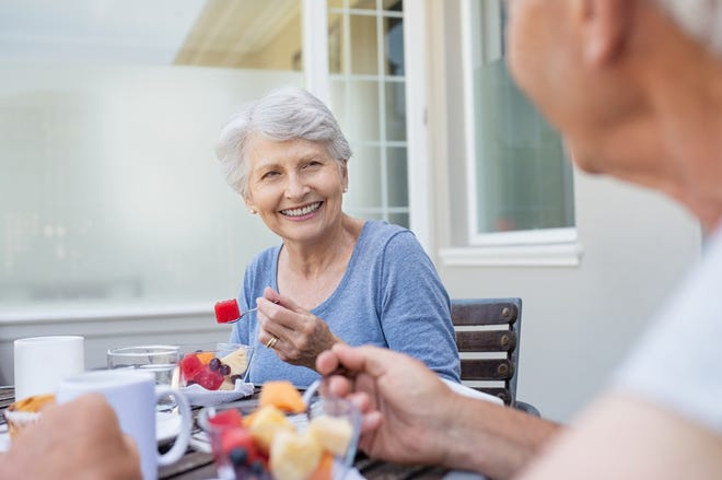 Seniors can enjoy better physical, mental, and emotional health with proper nutrition.