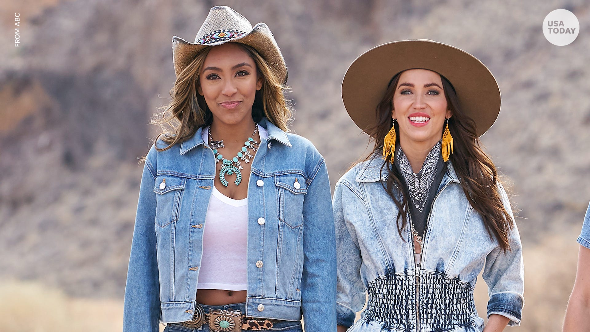 'Bachelorette' hosts Kaitlyn Bristowe and Tayshia Adams consider Chris Harrison a 'friend'