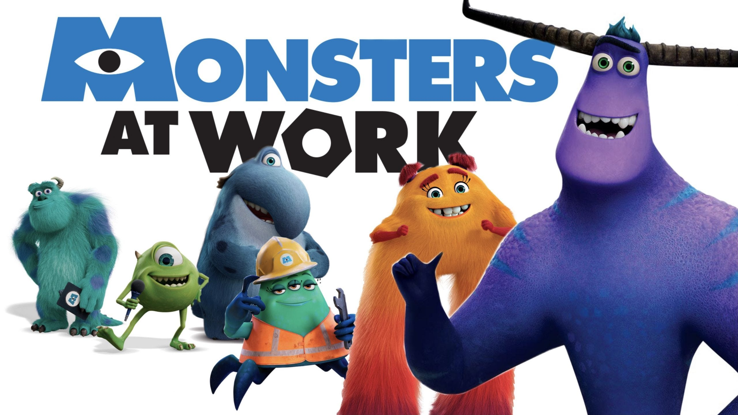 How to watch Monsters at Work on Disney Plus