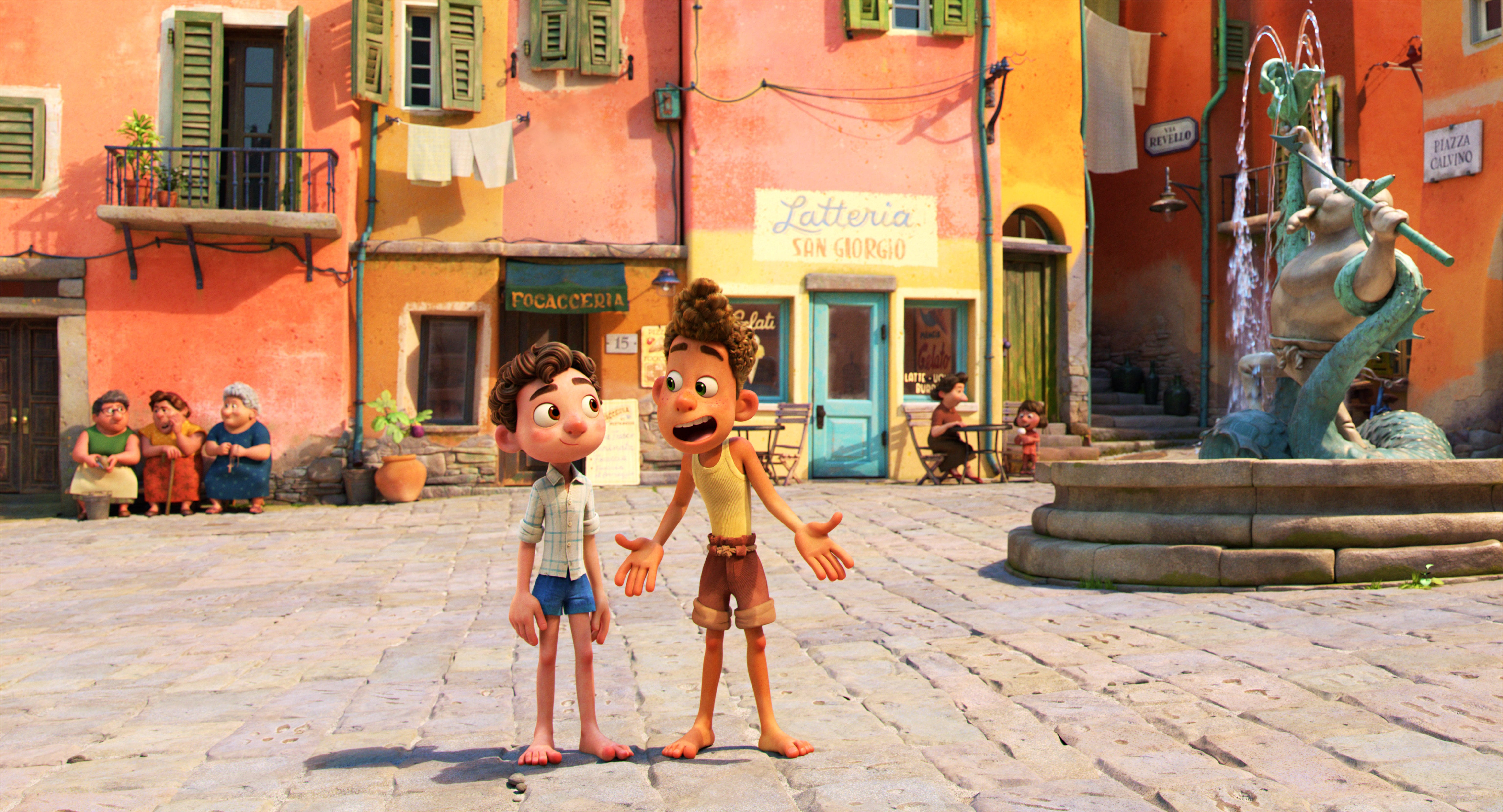 What to watch this weekend: Pixar s  Luca  on Disney+, Kevin Hart s  Fatherhood  on Netflix