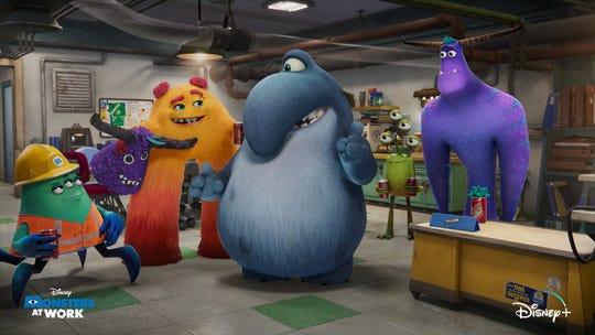 Sully y Mike ahora son dueños de Monsters, Incorporated, que intenta hacer reír a los niños en lugar de asustarlos.