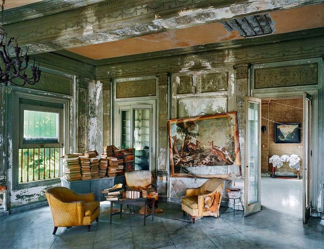 """""""Faxas Residence, Havana, Cuba, 1997"""" is part of a collection of Robert Polidori photos acquired by the University of Texas' Briscoe Center."""