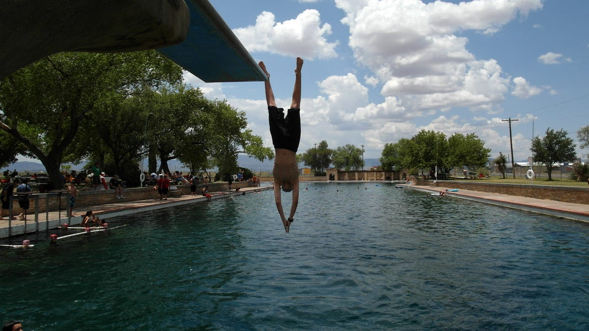 Balmorhea, the world's largest spring-fed swimming pool, reopening in West Texas
