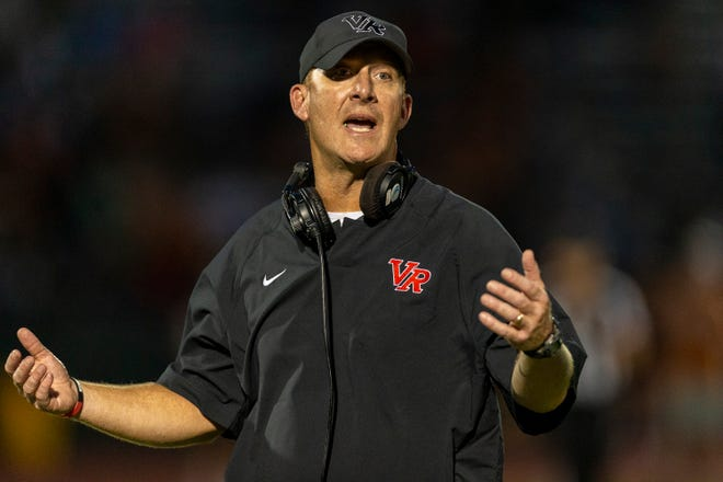 Vista Ridge coach Rodney Vincent, who was named head coach at Shallowater on Monday, was a combined 14-6 in his last two years with the Rangers. He was with Vista Ridge for 12 years.