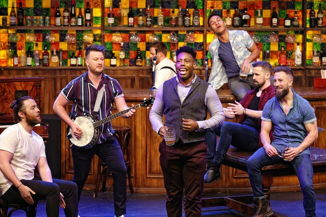 """""""The Choir of Man,"""" Playhouse Square's first live show in 15 months, will play through July 25 at the Mimi Ohio Theatre."""