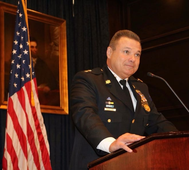 Joe Sullivan is a retired deputy commissioner in Philadelphia and finalist for police chief in Akron.