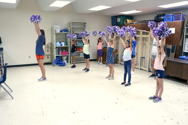 Dance and cheer lessons are some of the courses available at Kids' College at Ascension Academy.