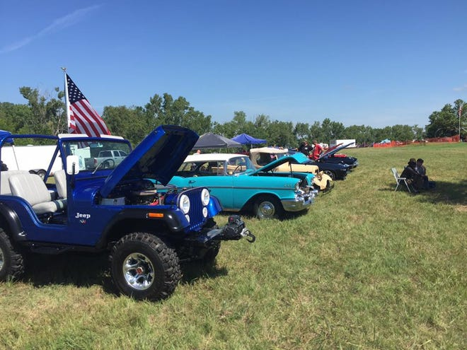 Kansas Veteran and Family Reunion Car Show in 2016 at El Dorado Lake