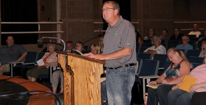Mike Skaug, board chair of the Ag Innovation Campus being built in Crookston, said during the public hearing that the AIC management team was surprised to hear about all of the difficulties between theCity of Crookston and CHEDA. AIC leaders had a positive experience working with both, Skaug said.