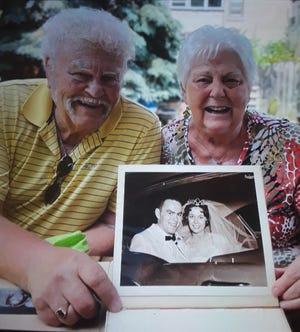 Duainne and Paula Bourcy, of Devils Lake, recently celebrated their diamond wedding anniversary on June 10.