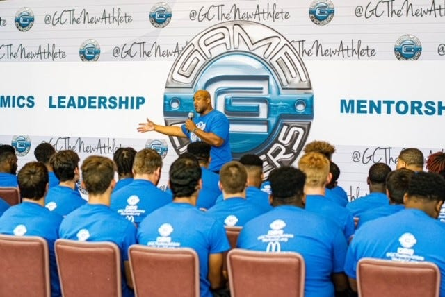 The Game Changers GC 360 leadership summit allows high school athletes to learn important skills to help them transition from high school and beyond