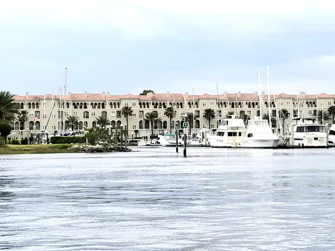 Celebrate everything you love about Florida from this four-story townhome at 13928 Atlantic Blvd., in WatersEdge at Harbortown. The spacious floor plan offers more than 3,000 square feet of living space, filled with refreshing breezes, as well as great views of the marina and Intracoastal Waterway. Highlights include 10-foot-plus ceilings, eight-foot doors, a private courtyard, elevator, two-car garage,  granite counters and stainless appliances. Price: $977,500